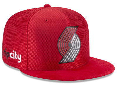 Portland Trail Blazers New Era 2017 NBA On Court Reverse 9FIFTY Snapback Cap