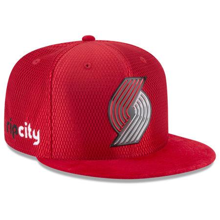 Portland Trail Blazers New Era 2017 NBA On Court Reverse 9FIFTY Snapback Cap