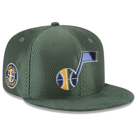 Utah Jazz New Era 2017 NBA On Court Reverse 9FIFTY Snapback Cap
