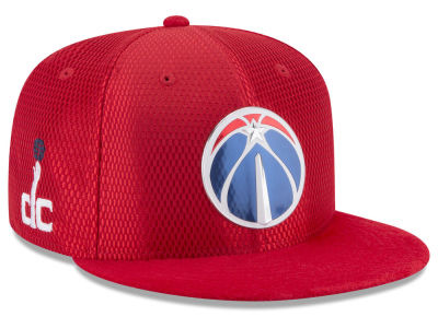 Washington Wizards New Era 2017 NBA On Court Reverse 9FIFTY Snapback Cap