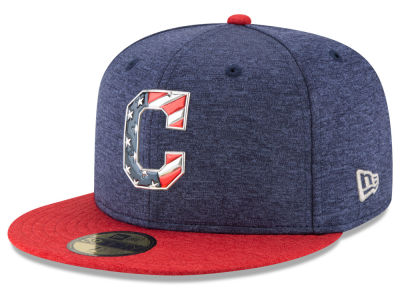 Cleveland Indians New Era 2017 MLB Kids Stars & Stripes 59FIFTY Cap