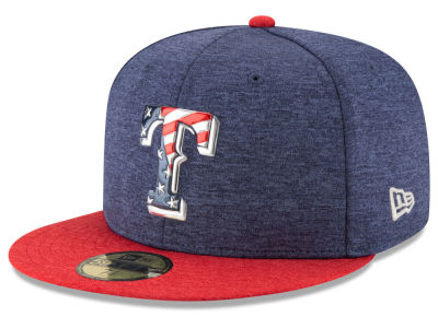 Texas Rangers New Era 2017 MLB Kids Stars & Stripes 59FIFTY Cap