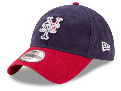 New York Mets New Era 2017 MLB Stars & Stripes 9TWENTY Strapback Cap