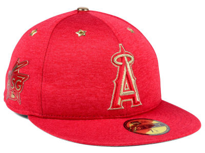 Los Angeles Angels New Era 2017 MLB All-Star Game Patch 59FIFTY Cap