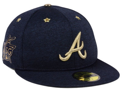 Atlanta Braves New Era 2017 MLB All-Star Game Patch 59FIFTY Cap