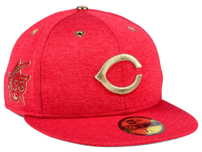 Cincinnati Reds New Era 2017 MLB All-Star Game Patch 59FIFTY Cap