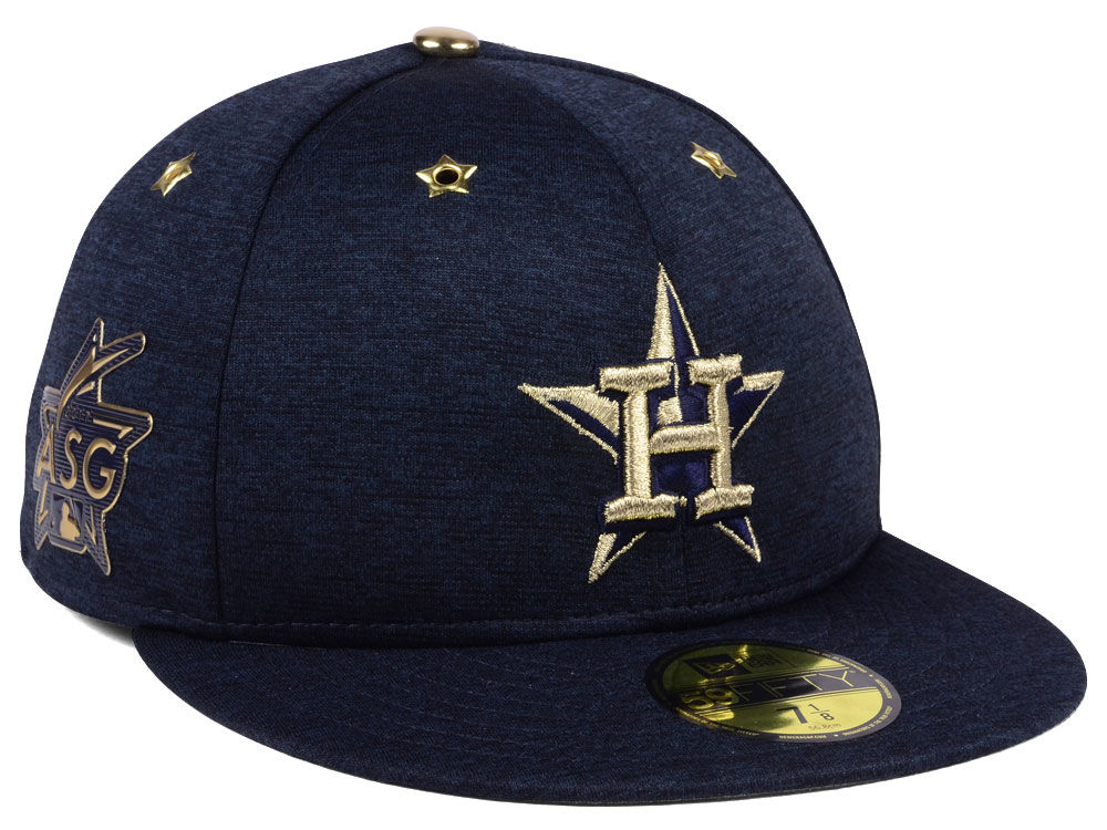 b54d04c25d4 Houston Astros New Era 2017 MLB All-Star Game Patch 59FIFTY Cap ...