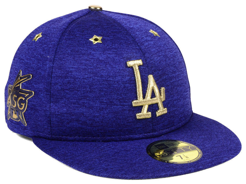 b2ea15abd85 Los Angeles Dodgers New Era 2017 MLB All-Star Game Patch 59FIFTY Cap ...