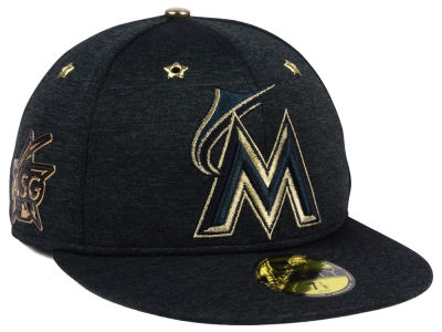 Miami Marlins New Era 2017 MLB All-Star Game Patch 59FIFTY Cap