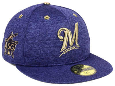 Milwaukee Brewers New Era 2017 MLB All-Star Game Patch 59FIFTY Cap