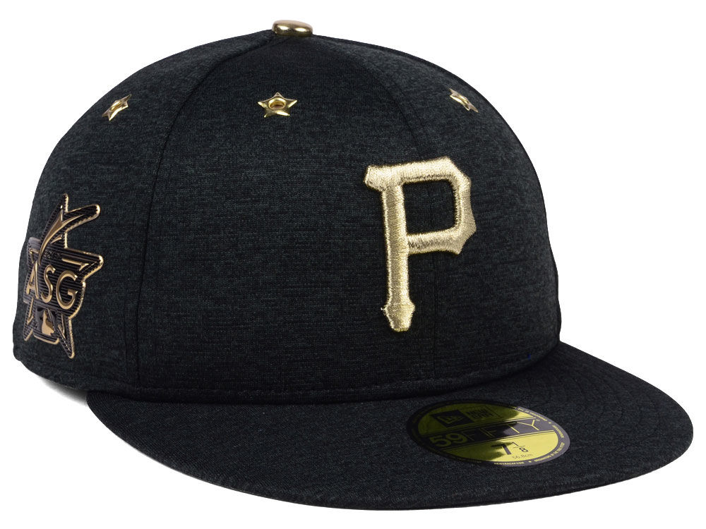 a8e9b68e9 top quality pittsburgh pirates new era 2017 mlb all star game patch 59fifty  cap 0c579 12945