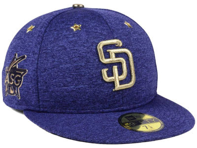 San Diego Padres New Era 2017 MLB All-Star Game Patch 59FIFTY Cap