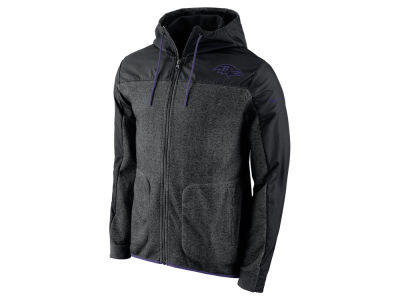 Baltimore Ravens Nike NFL Men's AV15 Winterized Full Zip Jacket