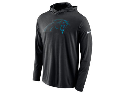 Carolina Panthers Nike NFL Men's Blend Hooded Long Sleeve T-Shirt