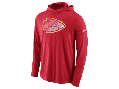 Kansas City Chiefs Nike NFL Men's Blend Hooded Long Sleeve T-Shirt