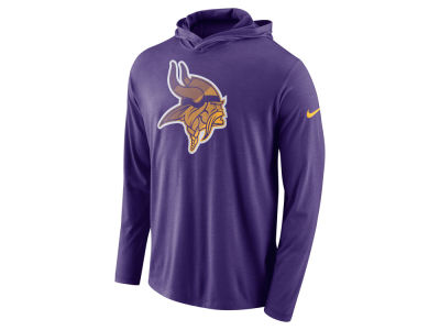 Minnesota Vikings Nike NFL Men's Blend Hooded Long Sleeve T-Shirt