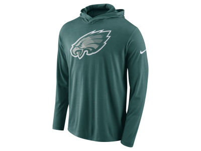 Philadelphia Eagles Nike NFL Men's Blend Hooded Long Sleeve T-Shirt