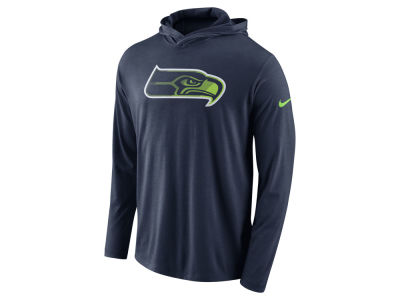 Seattle Seahawks Nike NFL Men's Blend Hooded Long Sleeve T-Shirt
