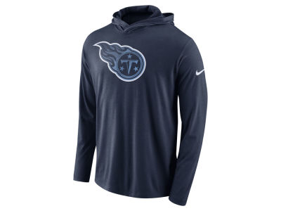 Tennessee Titans Nike NFL Men's Blend Hooded Long Sleeve T-Shirt