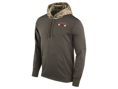 Arizona Cardinals Nike NFL Men's Salute To Service Therma Hoodie