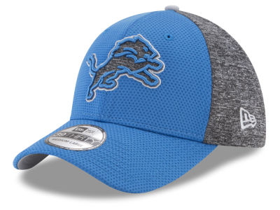 Detroit Lions New Era NFL Fierce Fill 39THIRTY Cap