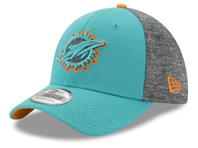 Miami Dolphins New Era NFL Fierce Fill 39THIRTY Cap