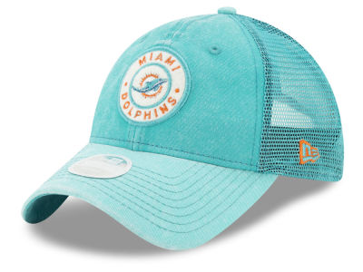 Miami Dolphins New Era NFL Women's Perfect Patch 9TWENTY Cap