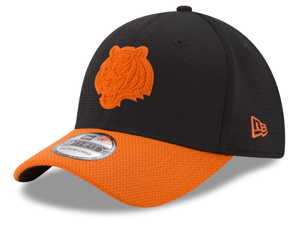 89d4615cee1 best price cincinnati bengals new era nfl logo surge 39thirty cap 811d8  77585