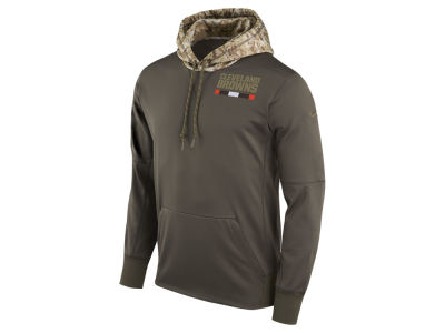 Cleveland Browns Nike NFL Men's Salute To Service Therma Hoodie