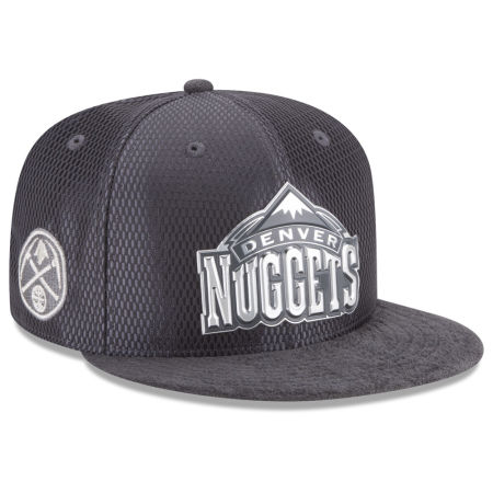 Denver Nuggets New Era NBA On-Court Graphite Collection 9FIFTY Snapback Cap