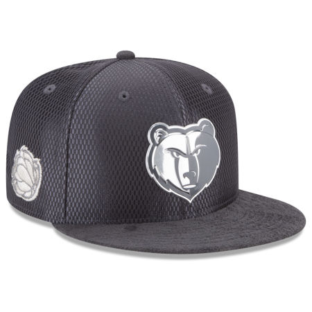 Memphis Grizzlies New Era NBA On-Court Graphite Collection 9FIFTY Snapback Cap