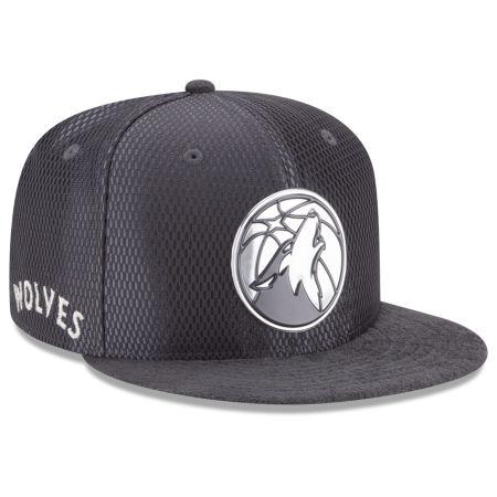 Minnesota Timberwolves New Era NBA On-Court Graphite Collection 9FIFTY Snapback Cap
