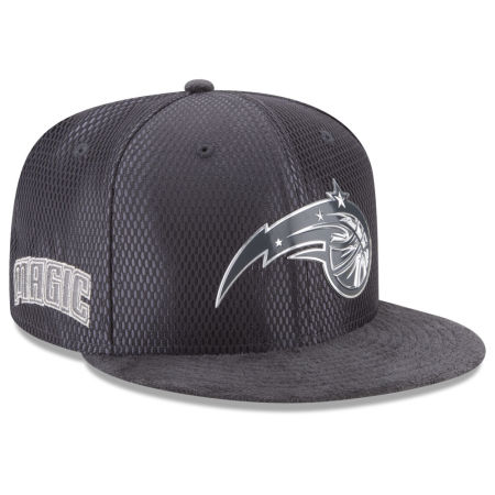 Orlando Magic New Era NBA On-Court Graphite Collection 9FIFTY Snapback Cap