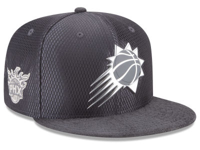 Phoenix Suns New Era NBA On-Court Graphite Collection 9FIFTY Snapback Cap