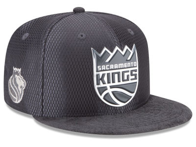 Sacramento Kings New Era NBA On-Court Graphite Collection 9FIFTY Snapback Cap