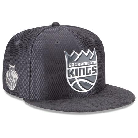 Sacramento Kings New Era NBA On-Court Graphite Collection 9FIFTY Snapback Cap