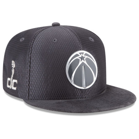 Washington Wizards New Era NBA On-Court Graphite Collection 9FIFTY Snapback Cap