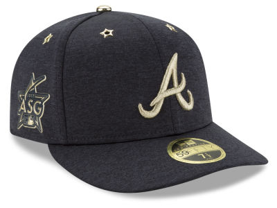 Atlanta Braves New Era 2017 MLB All-Star Game Patch Low Profile 59FIFTY Cap