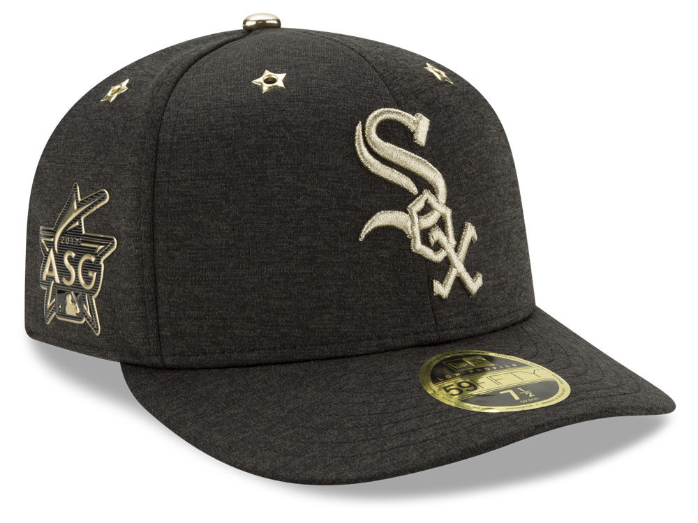 huge discount 27950 63785 ... inexpensive chicago white sox new era 2017 mlb all star game patch low  profile 59fifty cap