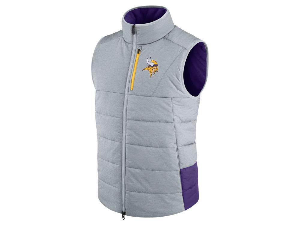 80d45bd8c Minnesota Vikings Nike NFL Men s Sideline Vest