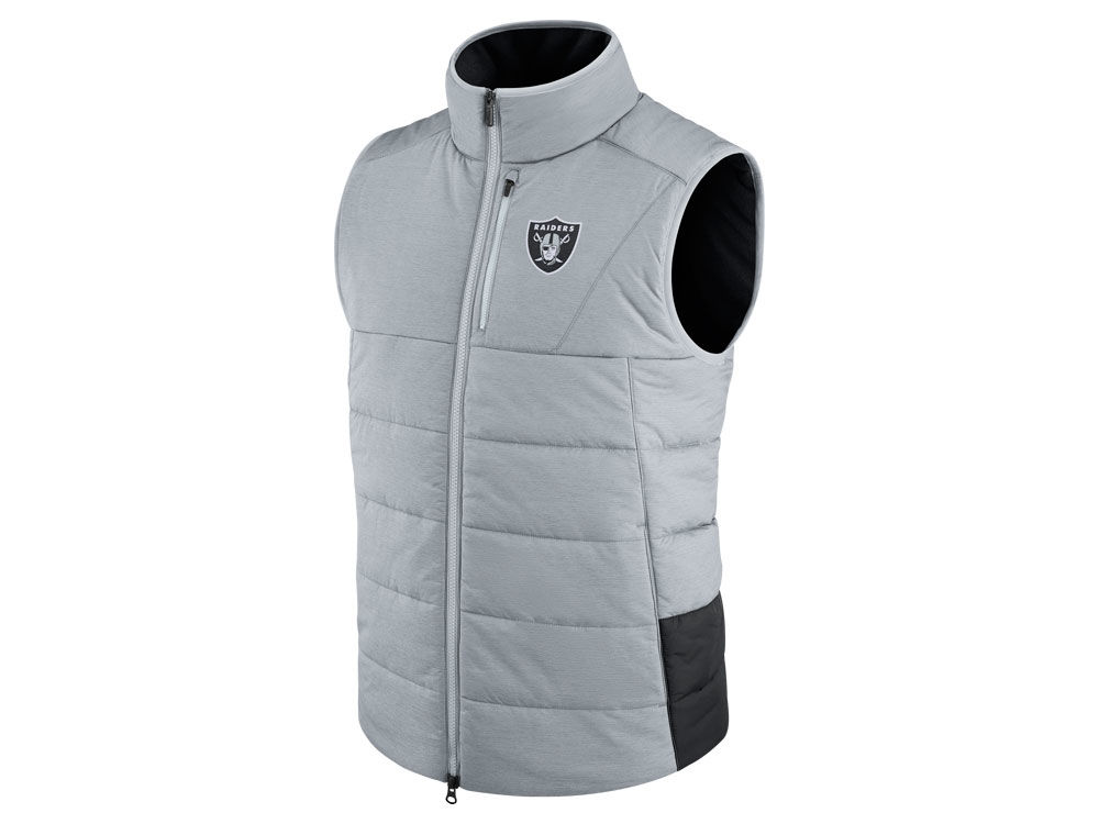 74f8fb00f Oakland Raiders Nike NFL Men s Sideline Vest