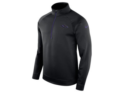 Baltimore Ravens Nike NFL Men's Lightweight Therma Quarter Zip Pullover