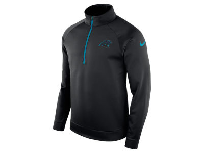 Carolina Panthers Nike NFL Men's Lightweight Therma Quarter Zip Pullover