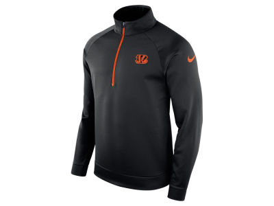 Cincinnati Bengals Nike NFL Men's Lightweight Therma Quarter Zip Pullover
