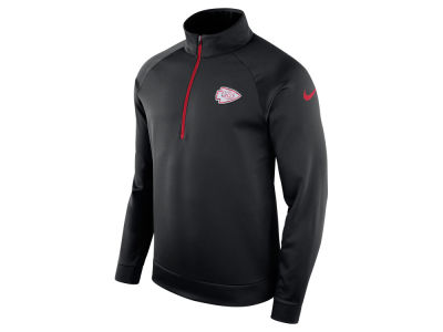 Kansas City Chiefs Nike NFL Men's Lightweight Therma Quarter Zip Pullover