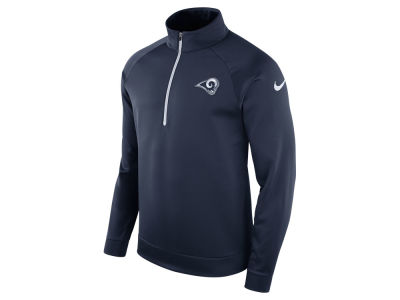 Los Angeles Rams Nike NFL Men's Lightweight Therma Quarter Zip Pullover