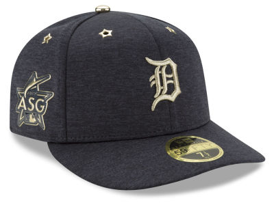 Detroit Tigers New Era 2017 MLB All-Star Game Patch Low Profile 59FIFTY Cap