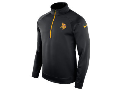 Minnesota Vikings Nike NFL Men's Lightweight Therma Quarter Zip Pullover