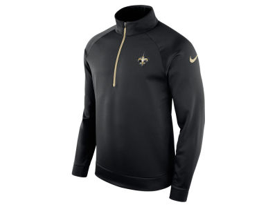 New Orleans Saints Nike NFL Men's Lightweight Therma Quarter Zip Pullover