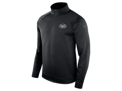 New York Jets Nike NFL Men's Lightweight Therma Quarter Zip Pullover